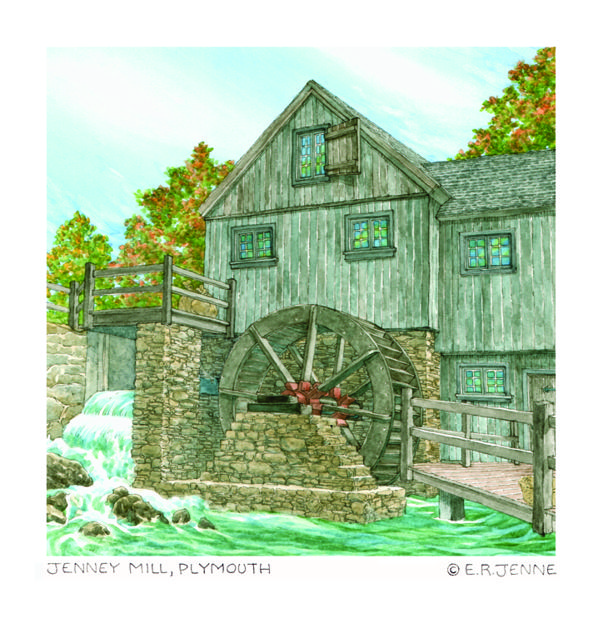 'Jenney Mill' art print